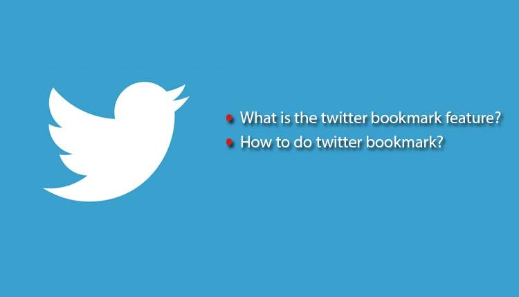 Twitter bookmark features, tweet bookmark kaise kare